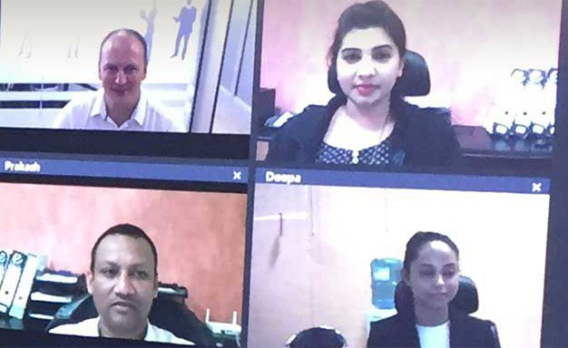 Team video call-1